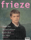 Frieze magazine cover