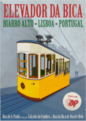 Poster of Lisbon by Simon