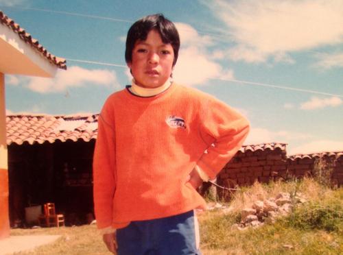 Americo aged twelve