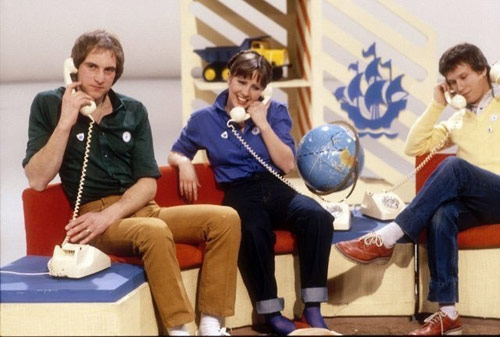 Blue Peter team 1980