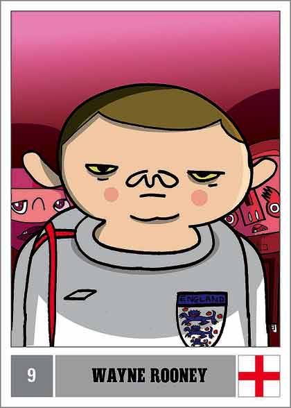 Burgerman vs Rooney