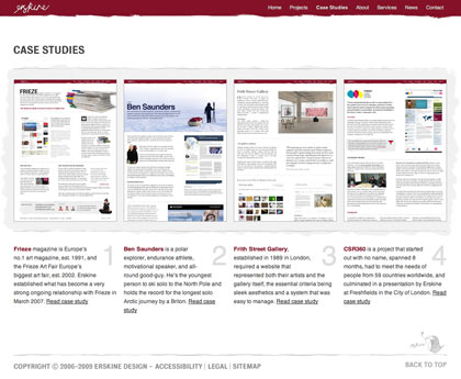 Erskine Design case studies