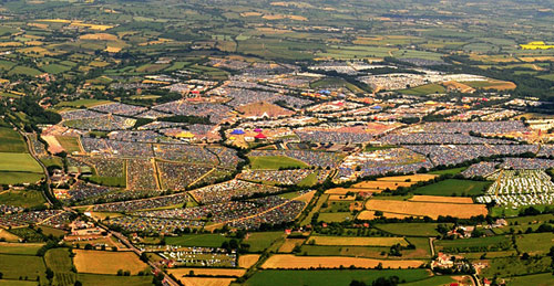 Glastonbury aerial