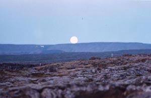 Moon, Iceland 1998