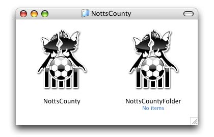 Notts County icons