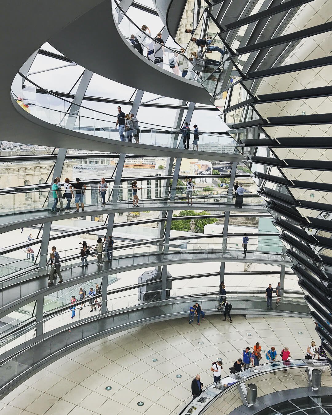 Reichstag dome.