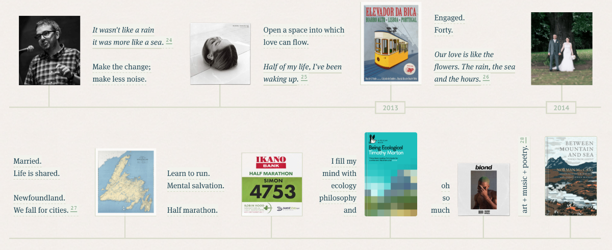 Another section of the timeline.