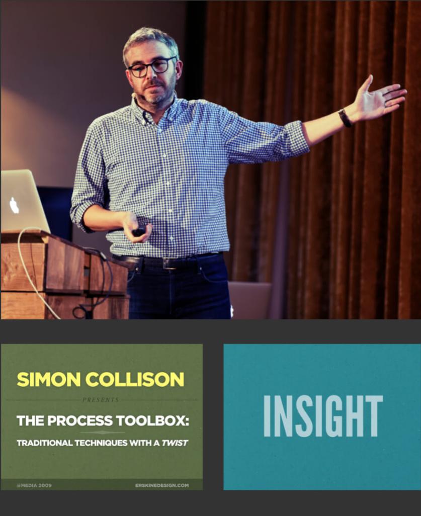 Simon Collison speaking